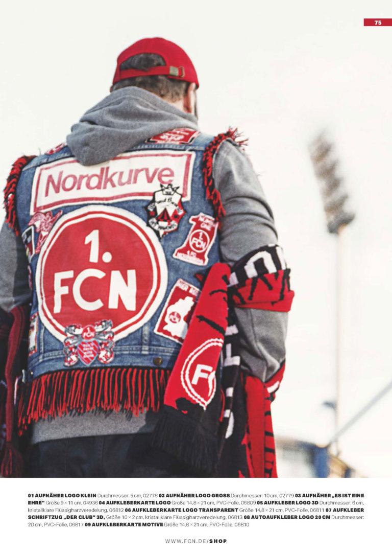 Fankultur FCNSchal Fanartikel Werbeauftritt