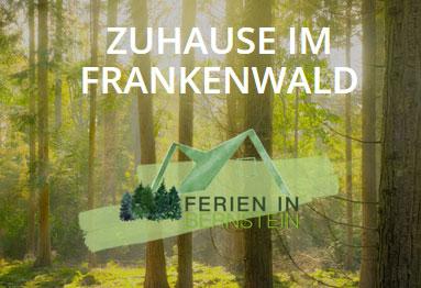 Ferienunterkünfe Frankenwald Logokonzeption Werbekampange
