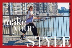 Fashionshooting My Cotton Selbstbewusste Ausstrahlung Attraktivität Stylesicherheit