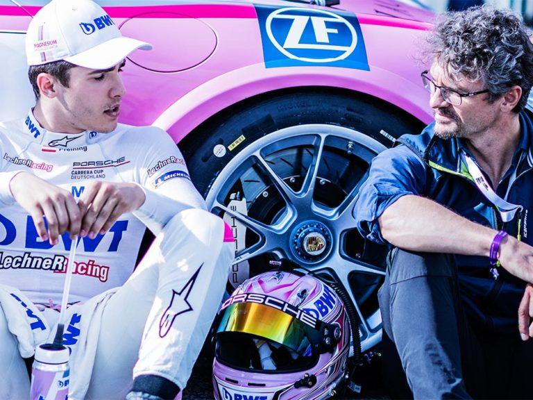 Onlocationshooting Carsharing Porsche BWT Motorsport Teamwear