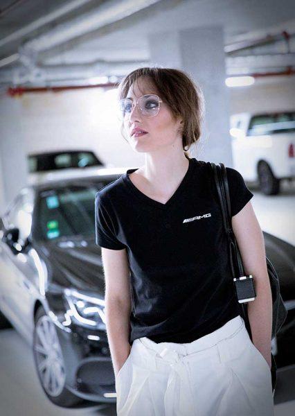 Modefotografie Pixelbäcker Businesslook Casualworkstyle Frau mit Stil